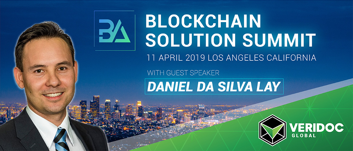 VeriDoc COO Daniel Da Silva Lay Speaking at BA Summit