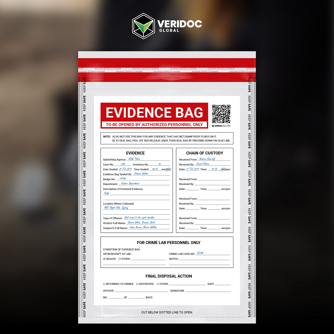 VeriDoc Global Evidence QR
