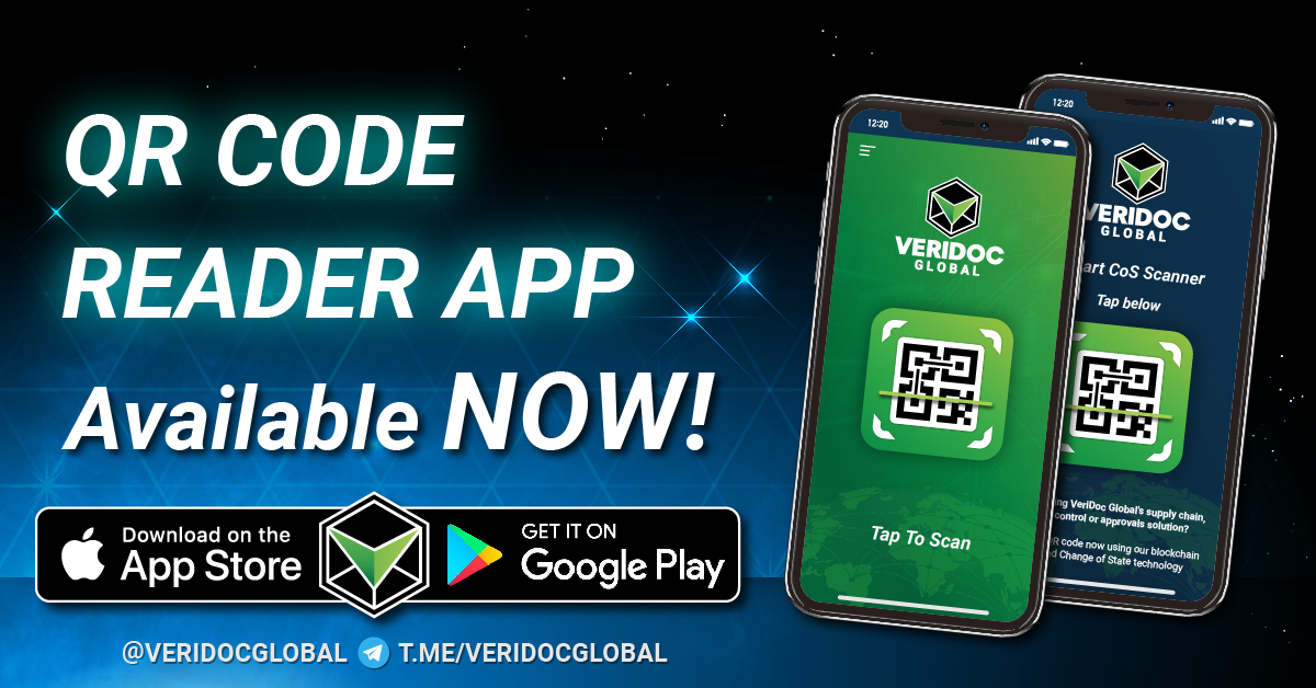 QR reader and COS VeriDoc Global